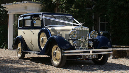 1932 Morris Isis Wedding Car
