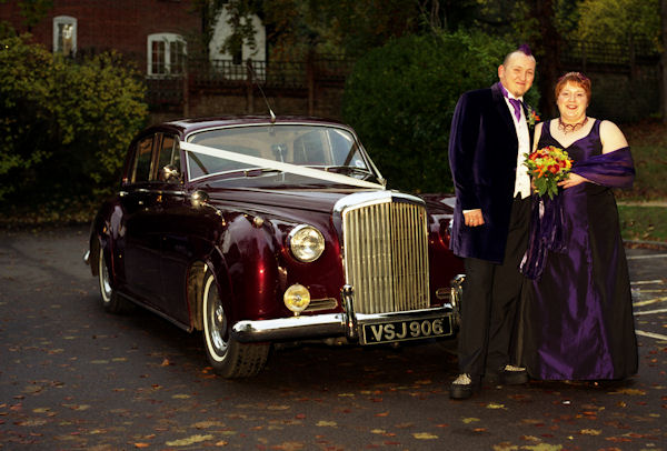 What a fantastic Bride and Goom, one of the nicest couples we have driven&nbsp;&nbsp;&nbsp; - &nbsp;&nbsp;&nbsp;<small>&copy;&nbsp;&nbsp; GTI&nbsp;</small>