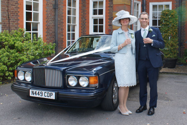 A very special car for the parents on their special day&nbsp;&nbsp;&nbsp; - &nbsp;&nbsp;&nbsp;<small>&copy;&nbsp;&nbsp; David Jones&nbsp;</small>