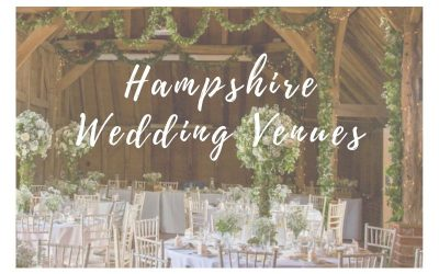 Wedding Venues in Hampshire That We Love!