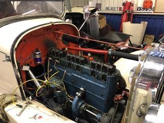 Classic Car restoration - olivia 7